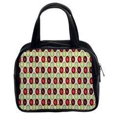 Christmas Pattern Classic Handbags (2 Sides)