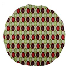 Christmas Pattern Large 18  Premium Round Cushions
