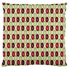 Christmas Pattern Standard Flano Cushion Case (One Side)