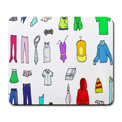 Clothing Boots Shoes Shorts Scarf Large Mousepads