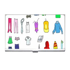 Clothing Boots Shoes Shorts Scarf Business Card Holders