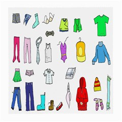 Clothing Boots Shoes Shorts Scarf Medium Glasses Cloth (2-Side)