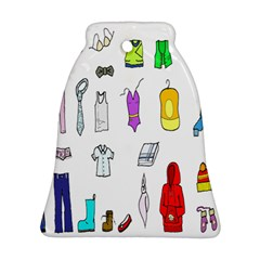 Clothing Boots Shoes Shorts Scarf Ornament (Bell)