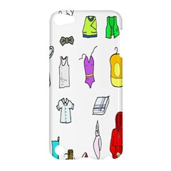 Clothing Boots Shoes Shorts Scarf Apple iPod Touch 5 Hardshell Case