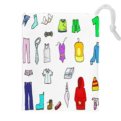 Clothing Boots Shoes Shorts Scarf Drawstring Pouches (XXL)
