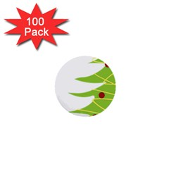 Christmas Tree Christmas 1  Mini Buttons (100 pack)