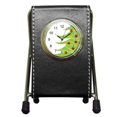 Christmas Tree Christmas Pen Holder Desk Clocks