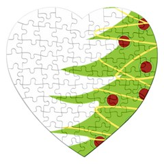 Christmas Tree Christmas Jigsaw Puzzle (Heart)