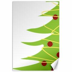 Christmas Tree Christmas Canvas 24  x 36