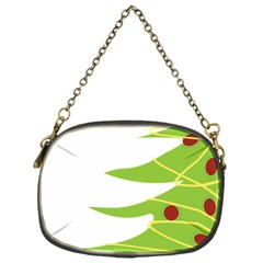 Christmas Tree Christmas Chain Purses (One Side)