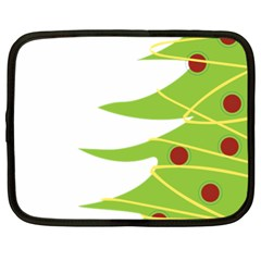 Christmas Tree Christmas Netbook Case (XL)