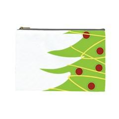 Christmas Tree Christmas Cosmetic Bag (Large)