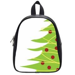 Christmas Tree Christmas School Bags (Small)