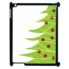 Christmas Tree Christmas Apple iPad 2 Case (Black)