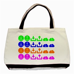 Download Upload Web Icon Internet Basic Tote Bag (Two Sides)
