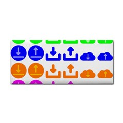 Download Upload Web Icon Internet Cosmetic Storage Cases