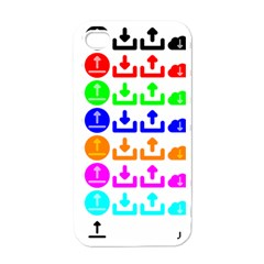 Download Upload Web Icon Internet Apple Iphone 4 Case (white)
