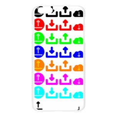Download Upload Web Icon Internet Apple Seamless iPhone 6 Plus/6S Plus Case (Transparent)
