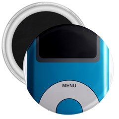 Digital Mp3 Musik Player 3  Magnets