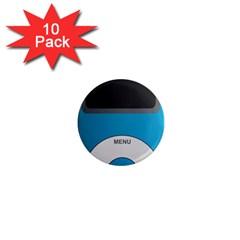 Digital Mp3 Musik Player 1  Mini Magnet (10 pack)