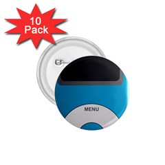 Digital Mp3 Musik Player 1.75  Buttons (10 pack)