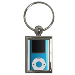 Digital Mp3 Musik Player Key Chains (Rectangle)