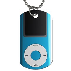 Digital Mp3 Musik Player Dog Tag (Two Sides)