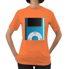 Digital Mp3 Musik Player Women s Dark T-Shirt