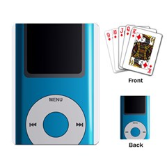 Digital Mp3 Musik Player Playing Card
