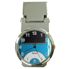 Digital Mp3 Musik Player Money Clip Watches