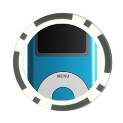 Digital Mp3 Musik Player Poker Chip Card Guard (10 pack)