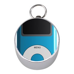 Digital Mp3 Musik Player Mini Silver Compasses
