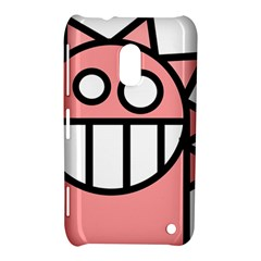 Dragon Head Pink Childish Cartoon Nokia Lumia 620
