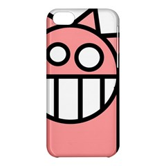 Dragon Head Pink Childish Cartoon Apple iPhone 5C Hardshell Case