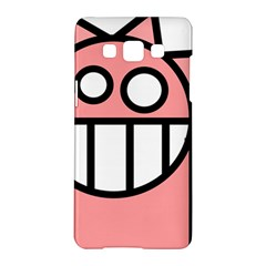 Dragon Head Pink Childish Cartoon Samsung Galaxy A5 Hardshell Case
