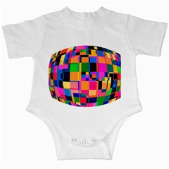 Color Focusing Screen Vault Arched Infant Creepers