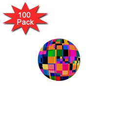 Color Focusing Screen Vault Arched 1  Mini Buttons (100 pack)