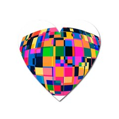 Color Focusing Screen Vault Arched Heart Magnet