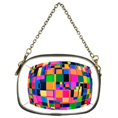 Color Focusing Screen Vault Arched Chain Purses (One Side)