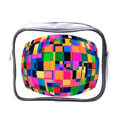 Color Focusing Screen Vault Arched Mini Toiletries Bags