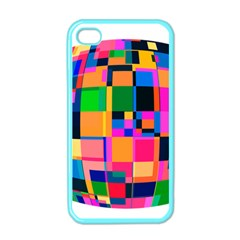 Color Focusing Screen Vault Arched Apple Iphone 4 Case (color)