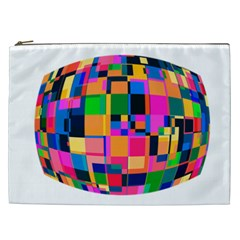 Color Focusing Screen Vault Arched Cosmetic Bag (XXL)