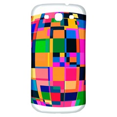 Color Focusing Screen Vault Arched Samsung Galaxy S3 S III Classic Hardshell Back Case