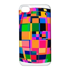 Color Focusing Screen Vault Arched Apple iPhone 4/4S Hardshell Case with Stand