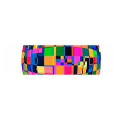 Color Focusing Screen Vault Arched Satin Scarf (Oblong)