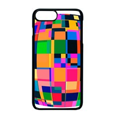 Color Focusing Screen Vault Arched Apple iPhone 7 Plus Seamless Case (Black)
