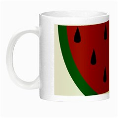 Food Slice Fruit Bitten Watermelon Night Luminous Mugs