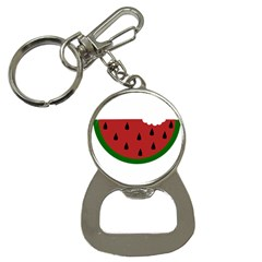 Food Slice Fruit Bitten Watermelon Button Necklaces