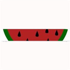 Food Slice Fruit Bitten Watermelon Small Bar Mats