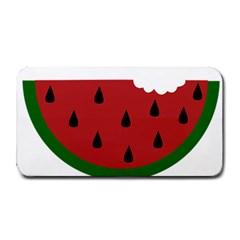 Food Slice Fruit Bitten Watermelon Medium Bar Mats